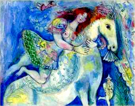 mulher chagall