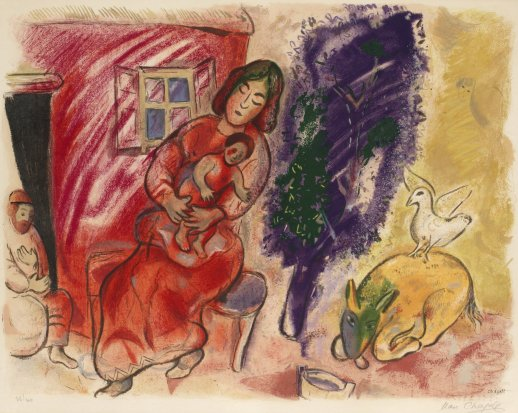 maternité Chagall 2
